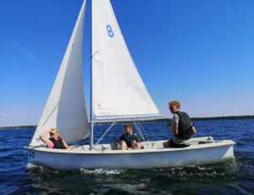 Ungdomsaktivitet i Visby hamn 2 oktober